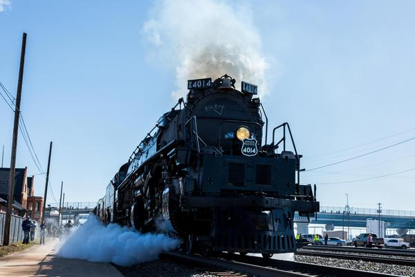 Union Pacific's Big Boy steam engine No. 4014, the world's only operating Big Boy, will make whistle-stops in 19 Kansas cities next week.
