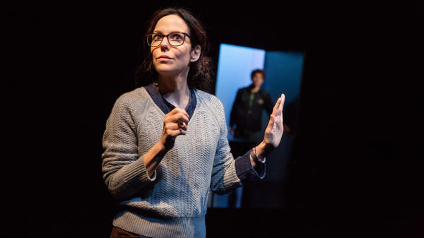 Mary-Louise Parker stars (with Will Hochman) in the new two-person Broadway drama <em>The Sound Inside</em>.