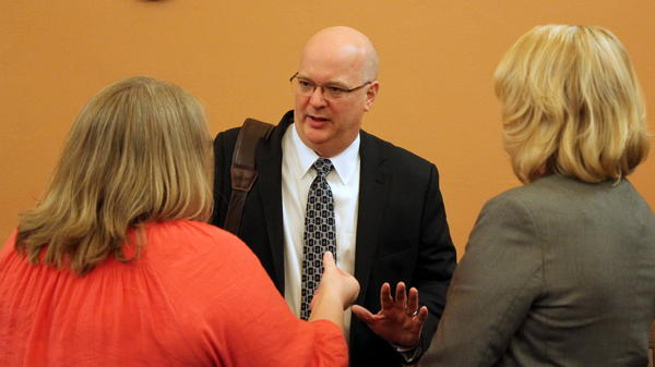 Aetna Better Health of Kansas CEO David Livingston attended the KanCare hearings this week.