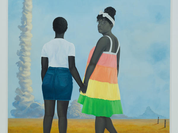 The Baltimore Museum of Art will buy only works by women next year, as part of a yearlong series exhibiting art by women. Amy Sherald's<em> Planes, rockets, and the spaces in between </em>(2018) is among the 3,800 works by women in the museum's collection.