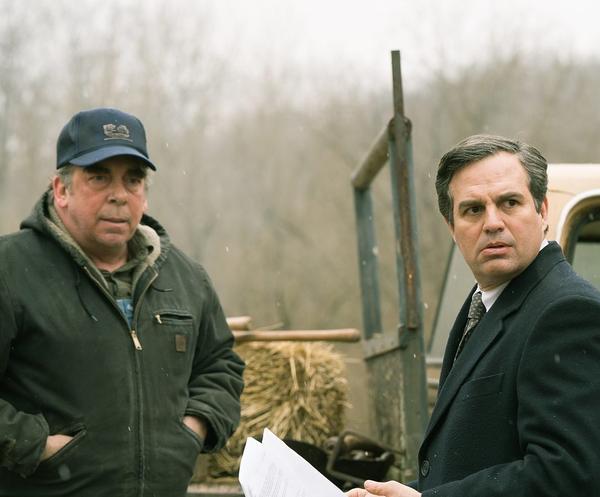 "Actor Mark Ruffalo in a film still from ""Dark Waters."""
