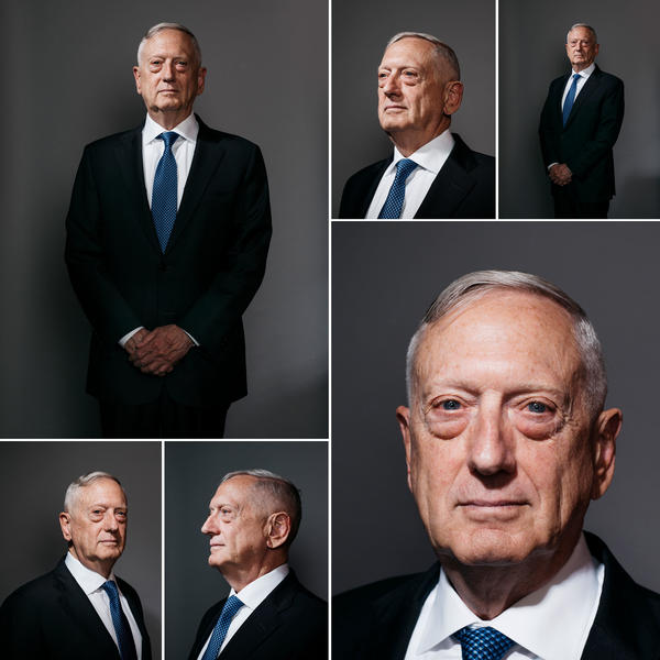 James Mattis served as defense secretary for nearly two years under President Trump before resigning at the end of last year.