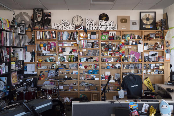 Watch live Oct. 28-31 to find out who is playing NPR's Tiny Desk Fest.