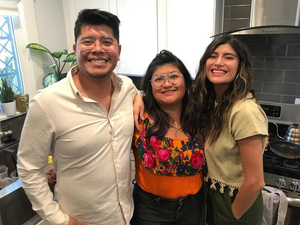 Fernando, Paulina and Bricia Lopez run Guelaguetza, the family's restaurant. The cuisine reflects traditions that are rooted in Oaxaca's many indigenous cultures, which the family honors at Thanksgiving.