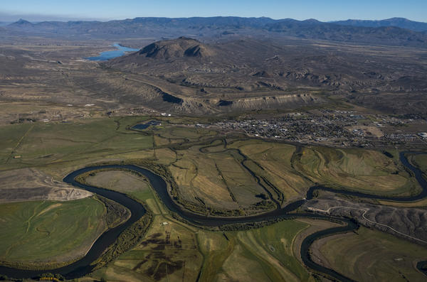 The Colorado River gets its start in Rocky Mountain National Park and flows through northwestern Colorado. Its watershed provides drinking and irrigation water for about 40 million people in the southwest.
