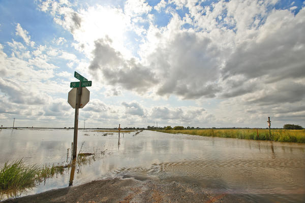 Heavy rains this spring led to widespread flooding in Kansas.