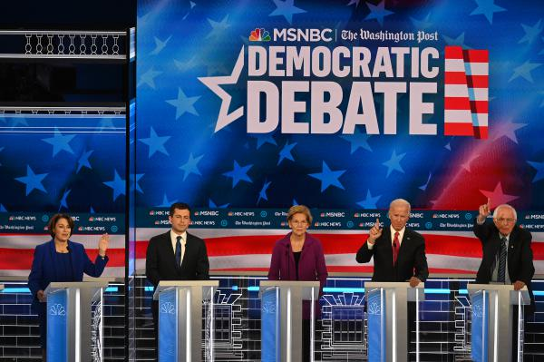 Presidential candidates Sen. Amy Klobuchar, D-Minn., South Bend, Ind., Mayor Pete Buttigieg, Sen. Elizabeth Warren, D-Mass., former vice president Joe Biden and Sen. Bernie Sanders, I-Vt., all recognize health care a key voting concern. But polled Democrats don't yet agree on the best solution.