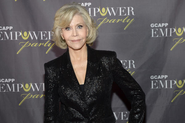 "Jane Fonda attends ""GCAPP Empower Party to Benefit Georgia's Youth"" at The Fox Theatre in Atlanta, Georgia."