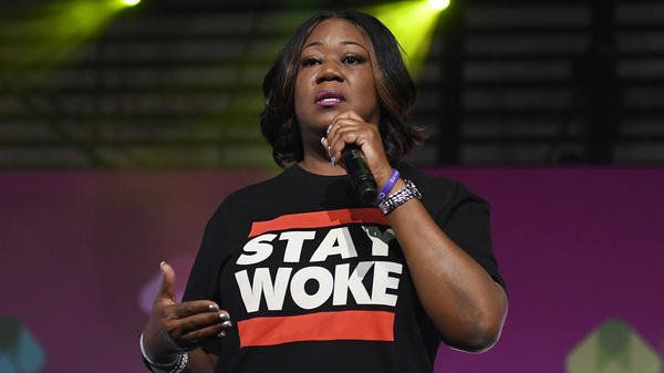 """This tale defies logic,"" Trayvon Martin's family said on Wednesday after George Zimmerman filed a lawsuit against the family. Sybrina Fulton, mother of Martin, is seen here delivering a speech in 2017."