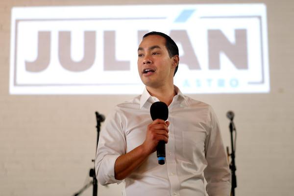 Democratic presidential candidate Julian Castro.