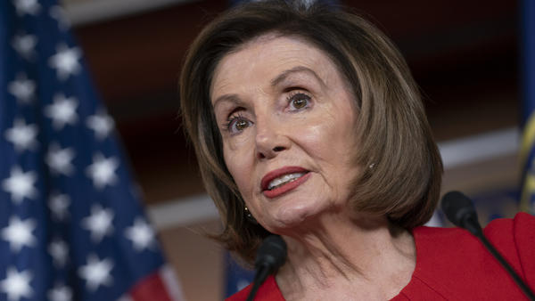 Speaker of the House Nancy Pelosi, D-Calif., is addressing the status of the impeachment inquiry in a statement at the Capitol on Thursday.