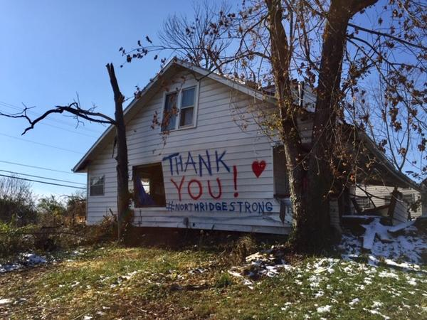 After the tornado, Timothy Walker, Beth Wentz and their kids relocated to Clark County.