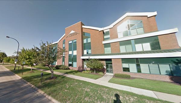 The Akron Metropolitan Housing Authority headquarters.