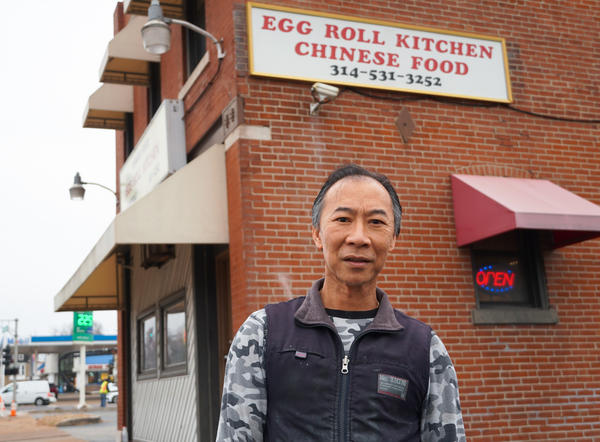 Lee Phung has owned Egg Roll Kitchen since 2000. His father started the North Grand business in 1968. He said he considers north St. Louis his second home.