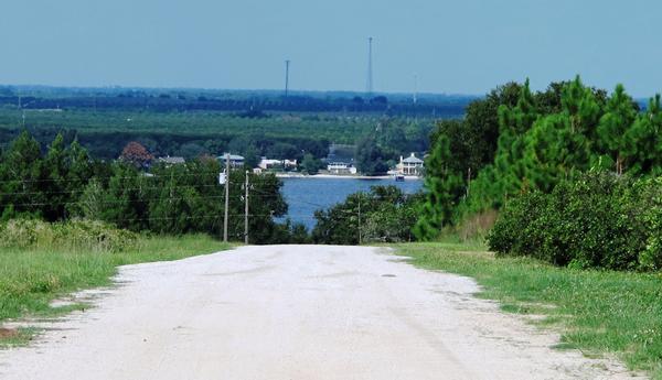 Scene on Scenic Highway on the Ridge