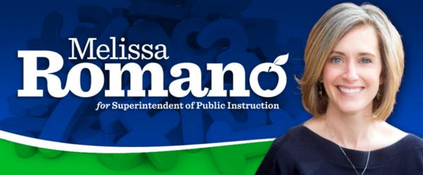 Melissa Romano is running for state superintendent of public instruction.