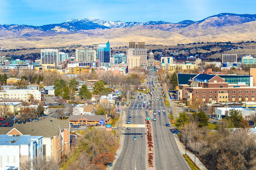 Construction, tech and healthcare are among the fastest growing sectors in the Mountain West, where job growth is centered in cities like Boise and Salt Lake.