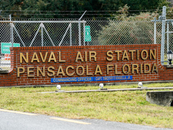 Officials announced they would suspend training for Saudi Arabian military pilots after the fatal shootings last week at the Pensacola Naval Air Station.