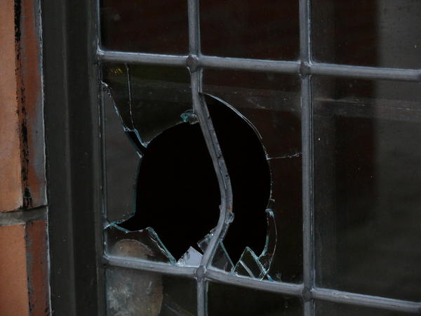 Akron police say 20 homes in the North Hill area have been vandalized this week.