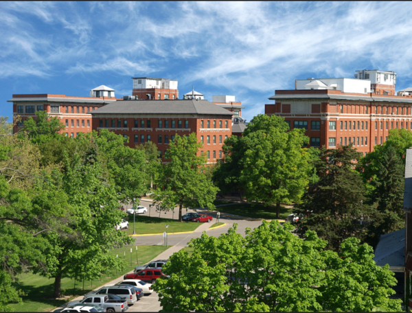 Mark Wisner was convicted and sentenced to prison for crimes he committed at the VA Hospital in Leavenworth, pictured here.