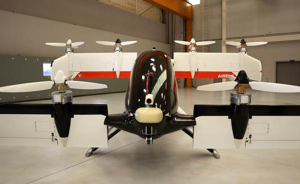 Robo air taxi completes flight testing at Pendleton airport, Airbus moves on