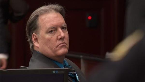 Michael Dunn in court.