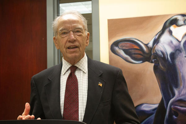 Iowa Republican Sen. Chuck Grassley has worked to ensure the required volume of ethanol mandated by the RFS is maintained.