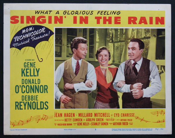 The 1952 'Singin' In The Rain' is a classic dance movie.