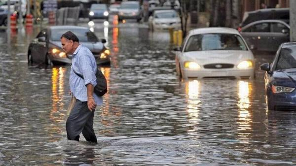 The National Flood Insurance Program has been tapped for years because of rising seas, river flooding and hurricanes. Congress passed bills this week to extend the program for another nine months.