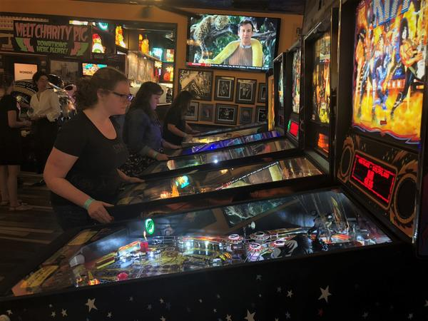 Cleveland has its own female-only pinball league, Belles and Chimes.