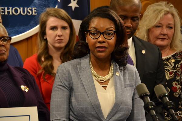 House Democratic Leader Emilia Sykes (D-Akron)