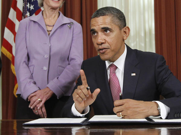 <p>President Obama signed an executive order Monday directing the Food and Drug Administration to take steps to reduce drug shortages. The order is one of several similar actions the president has taken in recent weeks.</p>
