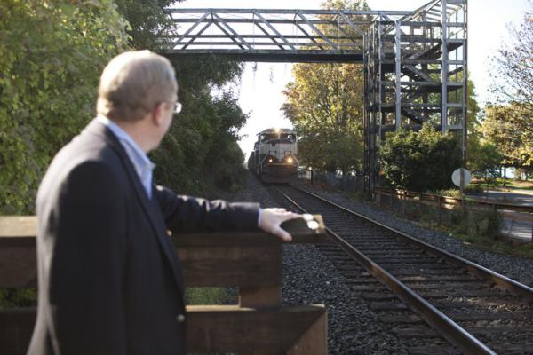 """Bellingham Mayor Dan Pike is opposed to the coal terminal despite the jobs and development it would bring. """"We've built a reputation over the past few decades as a place that values sustainability,"""" Pike says, """"and there are few things that are as anti-sustainability as coal is."""""""