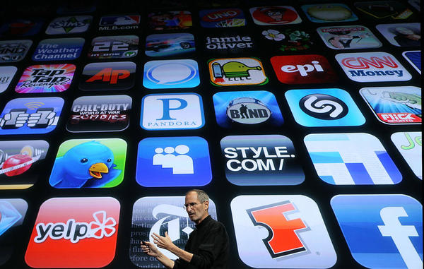 <b>Steve Jobs: </b>Co-founded Apple Computer, which radically changed the way people use computers through the use of the mouse and user-friendly operating systems. Developed the iPod, iPhone and iPad as well as the iTunes online music store. In this April 2010 photo, Jobs unveiled the new iPhone OS4 software in Cupertino, Calif.
