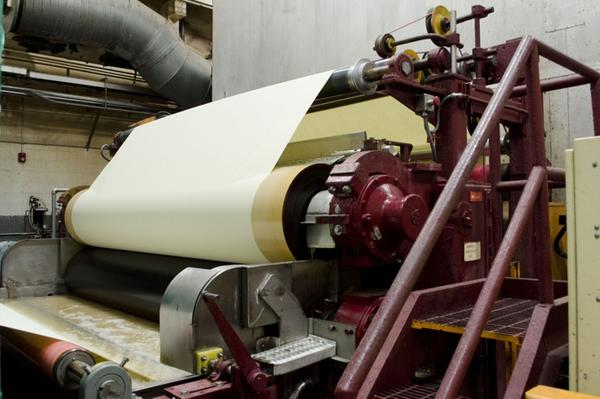 "A ""size press"" coats the currency paper so that it's compatible with the Bureau of Engraving and Printing's intaglio printing process."