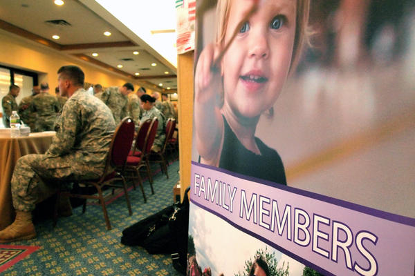 A recent Yellow Ribbon Reintegration Program event in Boston offered help for members of the 182nd Infantry Regiment of the Army National Guard as they transition back to being civilians.
