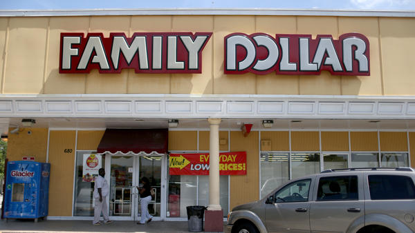 Family Dollar shareholders agreed Thursday to sell the company to rival chain, Dollar Tree for $8.7 billion. Family Dollar turned down a bigger offer from Dollar General due to antitrust concerns.
