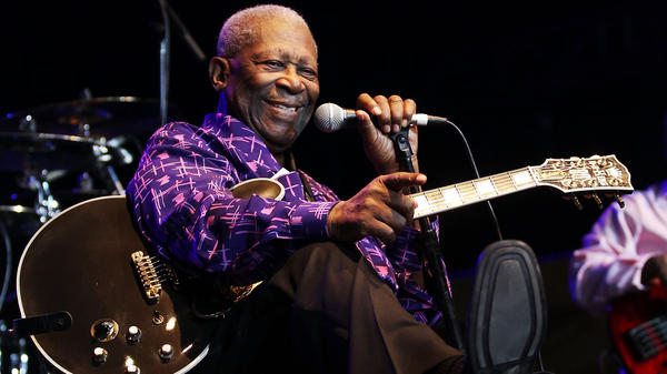 B.B. King performs at Bluesfest Music Festival in Byron Bay, Australia, in 2011.