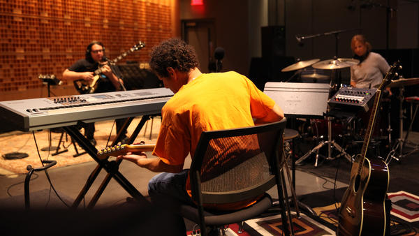 Yo La Tengo plays the music you hear between <em>Morning Edition</em> stories in Studio 1.