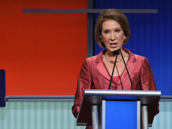Carly Fiorina's strong showing at the August Fox News debate helped boost her in the polls, meaning she could now make it into the main CNN debate.