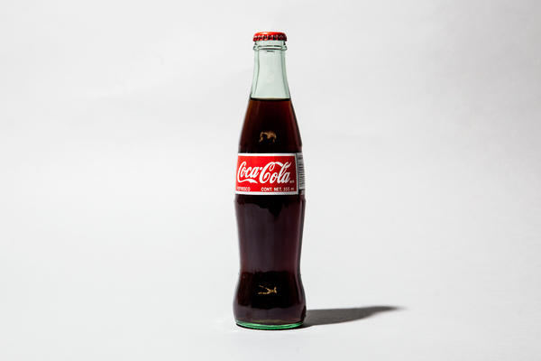 The iconic Coca-Cola bottle was actually modeled after a cocoa pod — even though it isn't an ingredient in the soda — by a glass company in Indiana.