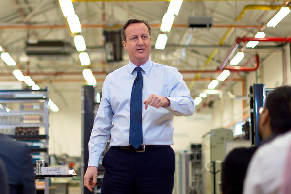 British Prime Minister David Cameron wants to cut migration, and part of the government's plan calls for some foreign workers to leave if they are making less than 35,000 pounds (about $50,000) annually.