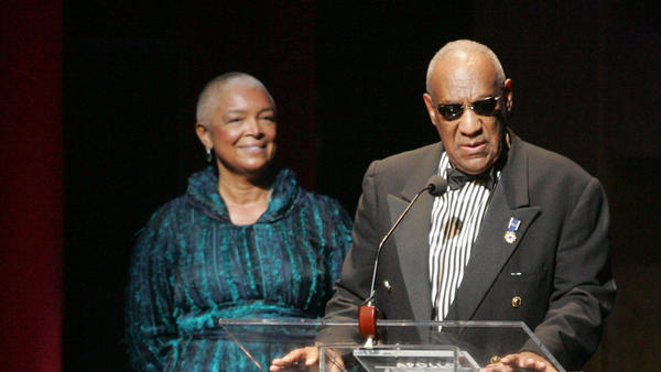 Camille Cosby and Bill Cosby attend the Apollo Theater's 75th anniversary gala in 2009 in New York City.