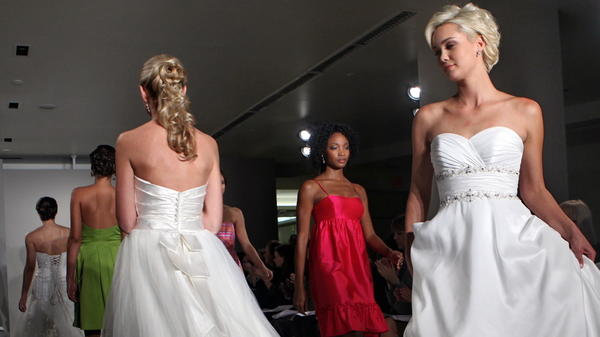 Alfred Angelo filed for Chapter 7 bankruptcy after closing dozens of its stores, leaving brides and bridesmaids struggling to get dresses they've paid for.