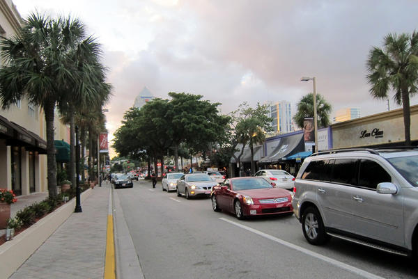 Construction and sewage problems have contributed to traffic jams in areas like Las Olas Boulevard.