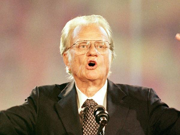 The Rev. Billy Graham's casket will lie in honor in the U.S. Capitol rotunda for two days. Mourners are invited to pay their final respects before a private funeral.
