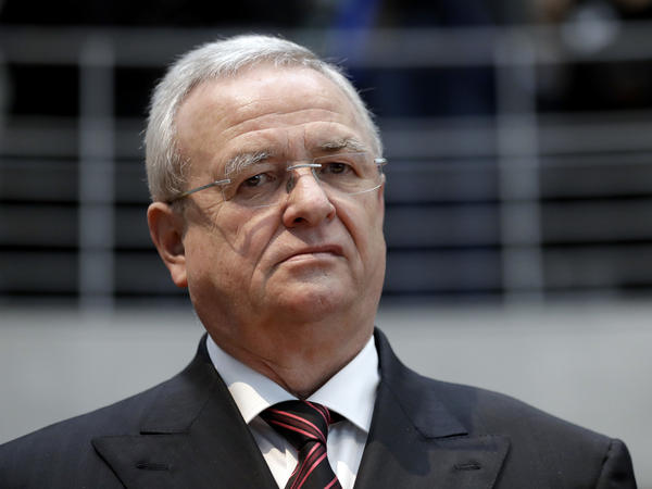 Martin Winterkorn, former CEO of the German car manufacturer Volkswagen, arrives for questioning at an investigation committee of the German federal parliament in Berlin, Germany, in January 2017.