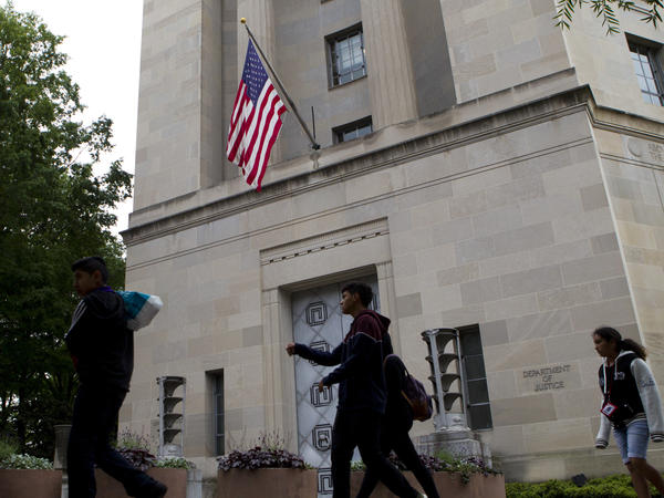 The Department of Justice headquarters in Washington, D.C., is losing one of its most experienced top leaders, the latest official to leave for work in the private sector.