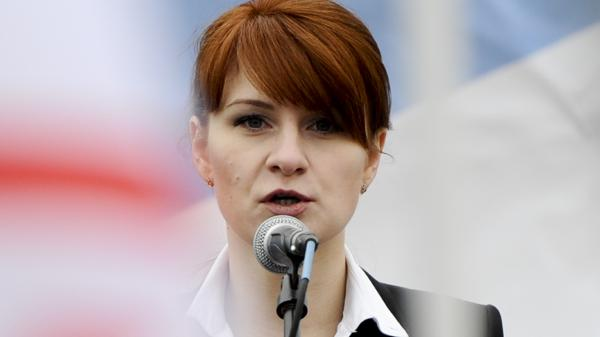Prosecutors said on Wednesday that the FBI has information that Maria Butina has been in contact with Russia's FSB spy agency for as long as she has been in the United States.