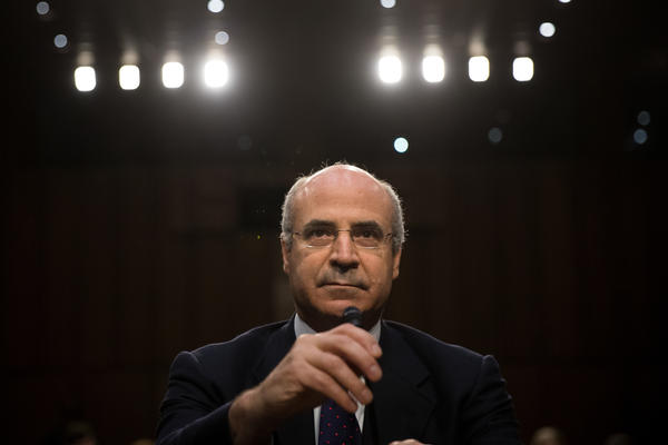 William Browder, chief executive officer of Hermitage Capital Management, testifies before a Senate Judiciary Committee hearing on July 27, 2017.